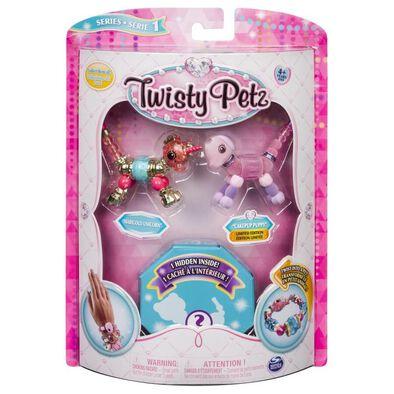 Twisty Petz寵物扭扭手鍊 - 三入組