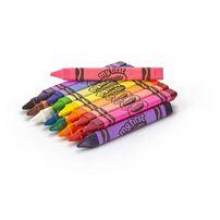 Crayola繪兒樂幼兒可水洗三角筆桿蠟筆16色
