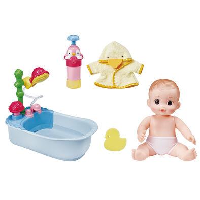 Kongsuni小荳娃娃 可可妹妹泡泡浴缸組
