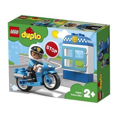 LEGO樂高得寶系列 10900 警察摩托車 積木 玩具