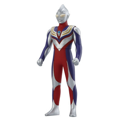 Ultraman超人力霸王500系列軟膠 #08 迪卡