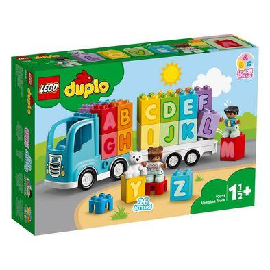 LEGO樂高得寶系列 字母火車 10915