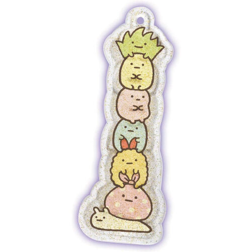 Sumikko Guarashi 角落小夥伴 魔法水晶吊飾  迷你夥伴組