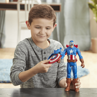 Marvel漫威復仇者聯盟爆裂發射泰坦英雄 美國隊長