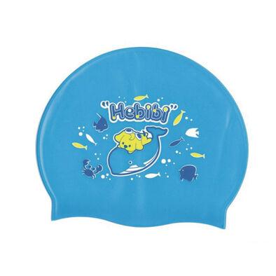 Success成功 比比狗 超彈性兒童矽膠泳帽(藍色)
