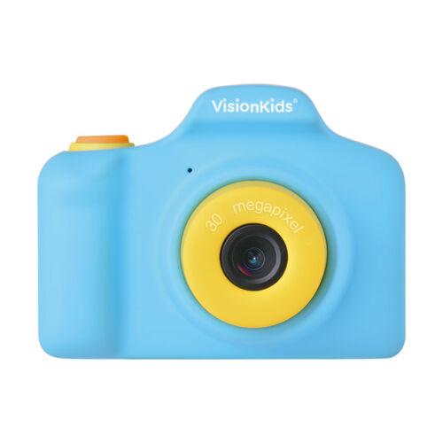 日本Vision Kids Happicamu Pro 3000萬像素兒童數位相機-藍色