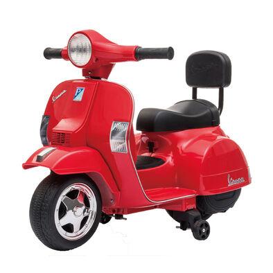 LUNG TZUAN Vespa PX150 迷你偉士牌兒童電動機車 紅