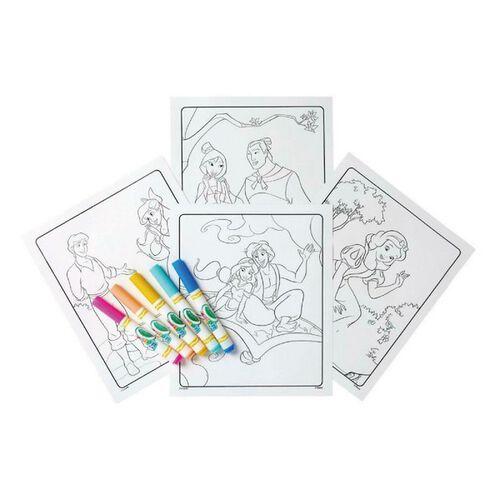 Crayola繪兒樂 Crayola 迪士尼公主色筆著色套裝