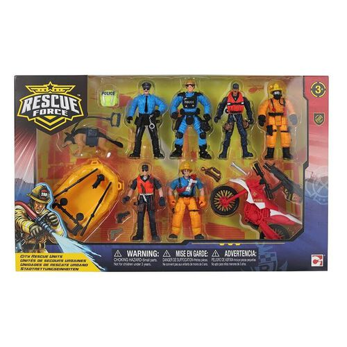 Rescue Force 城市英雄人物組