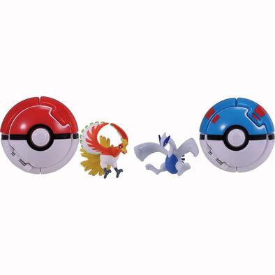 Pokemon寶可夢 神奇寶貝 鳳王 路奇亞 對戰組 Pokdel Z