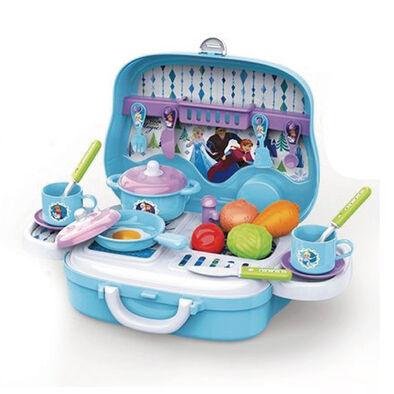 家家酒玩具 迪士尼disney Frozen迪士尼冰雪奇緣爐台手提箱