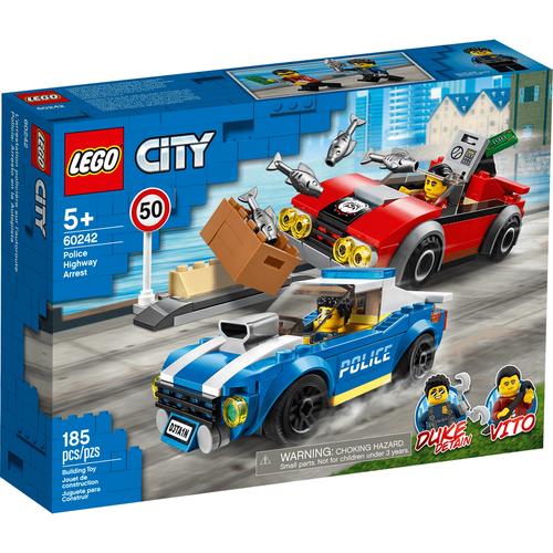 LEGO樂高城市系列 警察公路追捕戰 60242