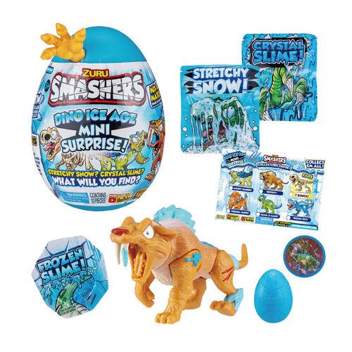 Zuru Smashers爆裂蛋 冰河恐龍世紀 冰河小恐龍蛋- 隨機發貨