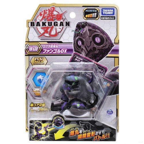 Bakugan爆丸基本 BP-030 進階爆丸 猛毒巨蟒DX (闇)