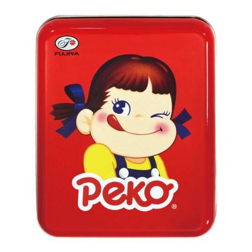 Fujiya不二家 Peko表情牛奶糖罐-眨眼40G