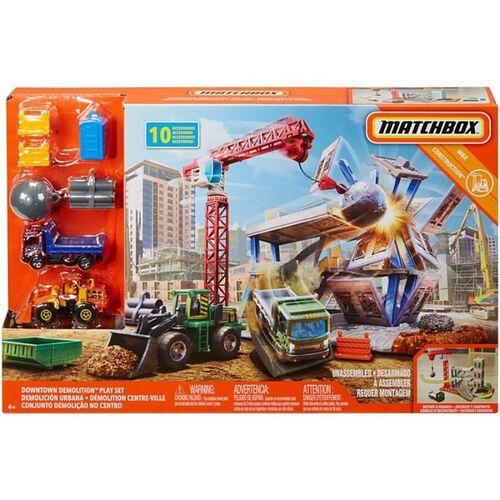 Matchbox火柴盒小汽車 建築工地組