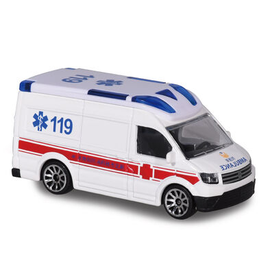 Majorette美捷輪小汽車國際款-台灣限定救護車款