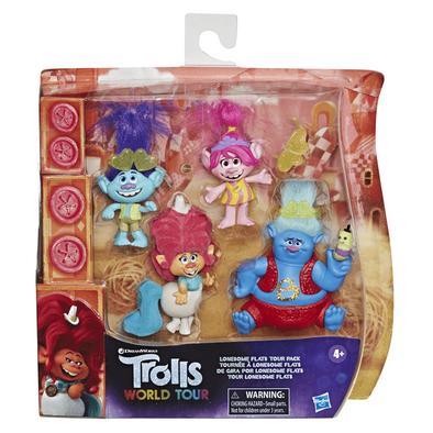Trolls魔髮精靈 唱遊世界 小人物組合包