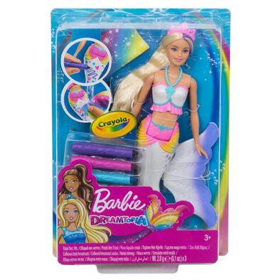 Barbie芭比娃娃Barbie 繪兒樂夢托邦美人魚