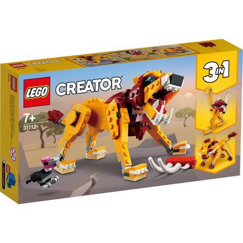 LEGO樂高 31112 野獅
