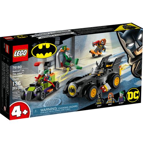 LEGO樂高 DC超級英雄系列Batman vs. The Joker: Batmobile Chase 76180