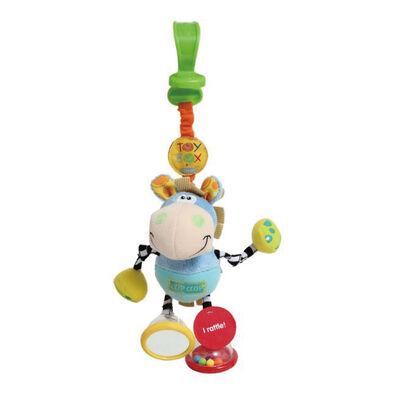 Playgro培高 小馬蹄嗒安撫搖鈴玩具(帶掛釣)