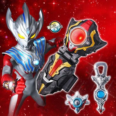 Ultraman超人力霸王 DX TAIGA大河SPARK變身器