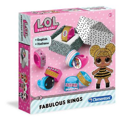L.O.L. Surprise!驚喜寶貝蛋 時尚戒指