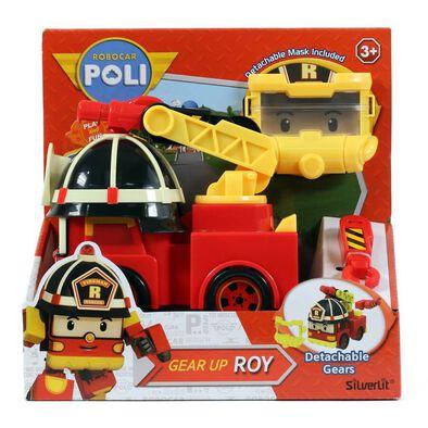 Robocar Poli波力救援小英雄 變裝任務 羅伊