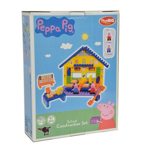 Peppa Pig粉紅豬小妹 PEPPA PIG 積木系列-學校