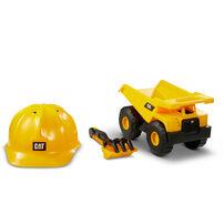 CAT 工程車/頭盔/玩沙組