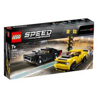 LEGO樂高超級賽車系列 LEGO Speed Champions 2018 Dodge Challenger Srt Demon And 1970 Dodge Charger R/T 75893