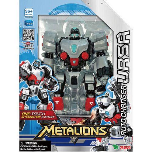 Metalions鋼鐵防衛隊 一鍵變形大熊星