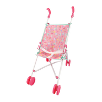 Baby Blush 玩具娃娃推車-可愛粉