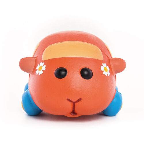 Pui Pui Molcar紓壓公仔-天竺鼠小車車/巧克力