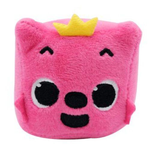 Pinkfong碰碰狐 與BABY SHARK發聲絨毛方塊