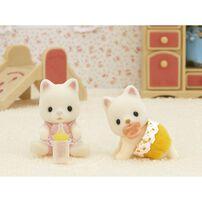 Sylvanian Families森林家族 牛奶貓雙胞胎