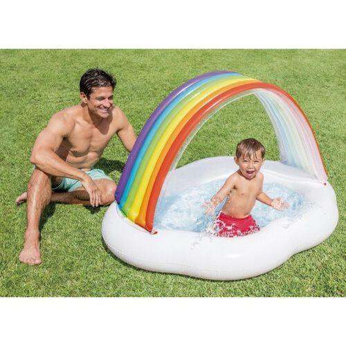 Intex 彩虹防曬兒童泳池