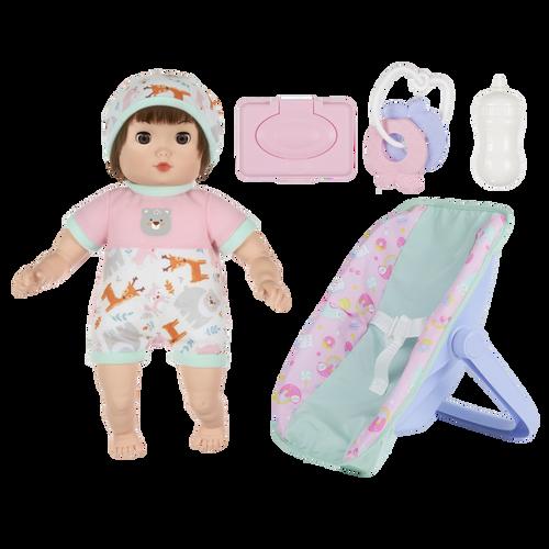 Baby Blush 親親寶貝 13吋娃娃搖椅配件組