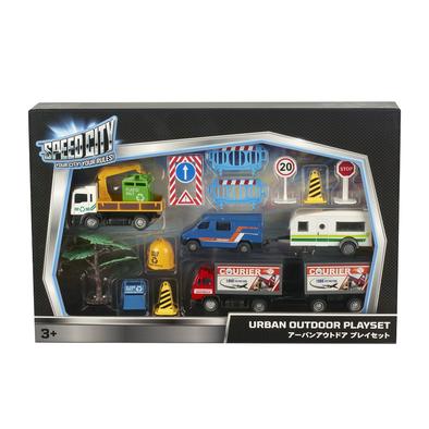Speed City極速城市 都市戶外玩具組