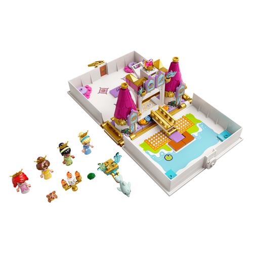 Lego樂高 43193 Ariel,Belle,Cinderella,Tiana's Storybook Adventure