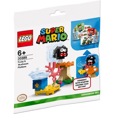 Lego樂高 刺毛怪和蘑菇地形(贈品)