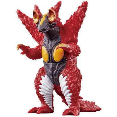 Ultraman超人力霸王怪獸軟膠-125 積龐頓