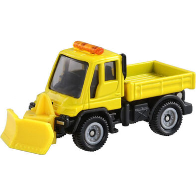 Tomica多美 No﹒22 Mercedes-Benz Unimog Snowplow