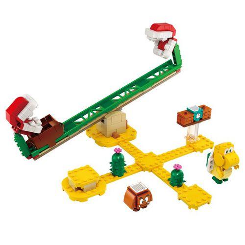 LEGO樂高71365 超級瑪利歐吞食花翹翹板