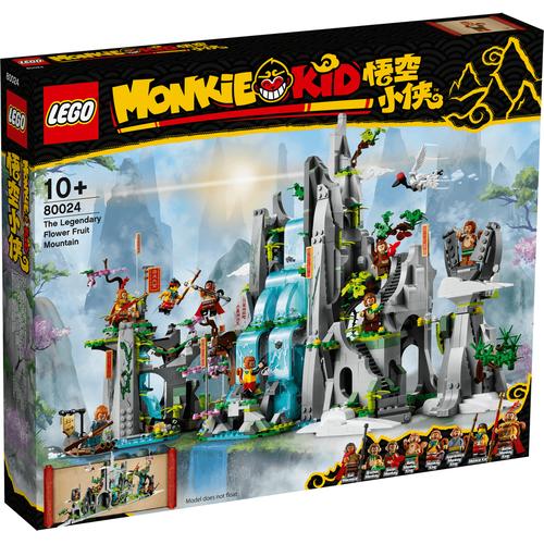 Lego樂高 Monkie Kid 80024 傳奇花果山