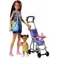 Barbie芭比與姊妹褓姆遊戲組