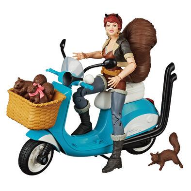 Marvel漫威漫威傳奇載具組(松鼠女孩/宇宙幽靈戰警) - 隨機發貨