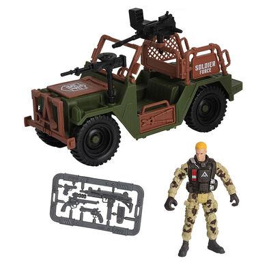 Soldier Force 吉普車套裝