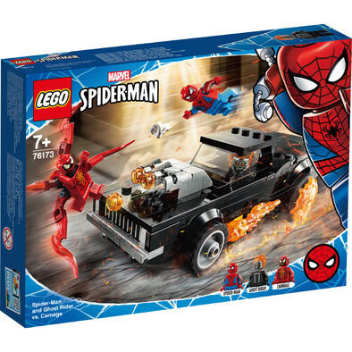 LEGO樂高 76174 Spider-Man and Ghost Rider vs. Carnage